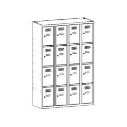 metalowa szafka szkolna sus344w