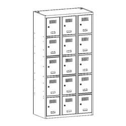 metalowa szafka skrytkowa sus335w/sus435w