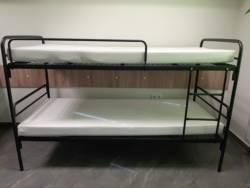 Łóżko metalowe piętrowe ZLO 2N