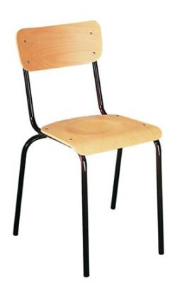 metalowe krzesło szkolne KD