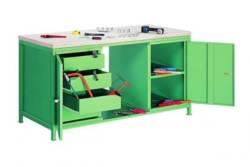 metalowy stół warsztatowy STW 402