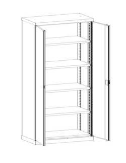 metalowe szafy narzędziowe serii SLS