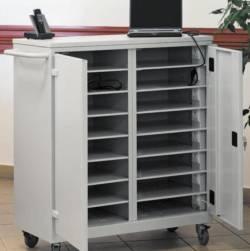 metalowy wózek na laptopy wnl208