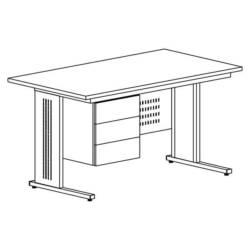 biurko metalowe biurowe bim 231
