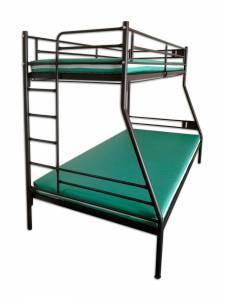 Łóżko metalowe piętrowe